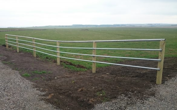 Continuous Pipe Fence My Cms